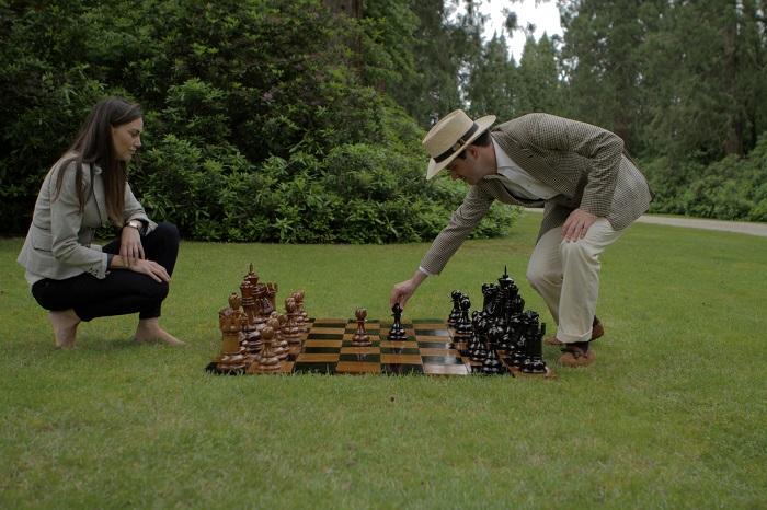 ... Garden Chess Pieces   Teak ...